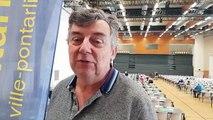 Emmanuel Stefanazzi présente les championnats de France de tarot à Pontarlier