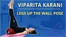 Learn The Legs Up The Wall pose   Viparita Karani  Simple Yoga For Beginners  Mind Body Soul