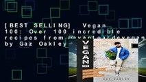 [BEST SELLING]  Vegan 100: Over 100 incredible recipes from @avantgardevegan by Gaz Oakley