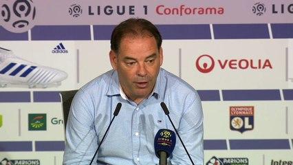 """#OLSCO - S. Moulin """"Une équipe de Lyon qui a retenu les leçons de ce qu'il s'est passé ces derniers temps"""""""