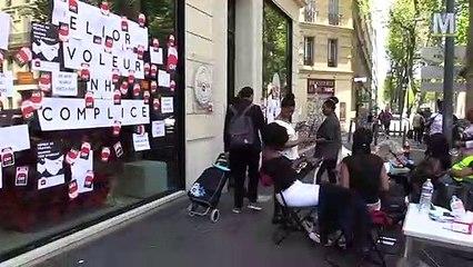 Les femmes de Chambre de l'hôtel NH Collection à Marseille restent mobilisées
