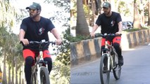 Big Boss Fame Gautam Gulati Spotted Doing Cycling for this reason: Check Out Here   FilmiBeat