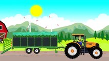 Corn harvest | Tractor and Combine for Kids | the corn Harvest | Tractor and combine Harvester Tale For Children