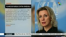 Rusia promete apoyar a Cuba y Venezuela frente a sanciones de EEUU