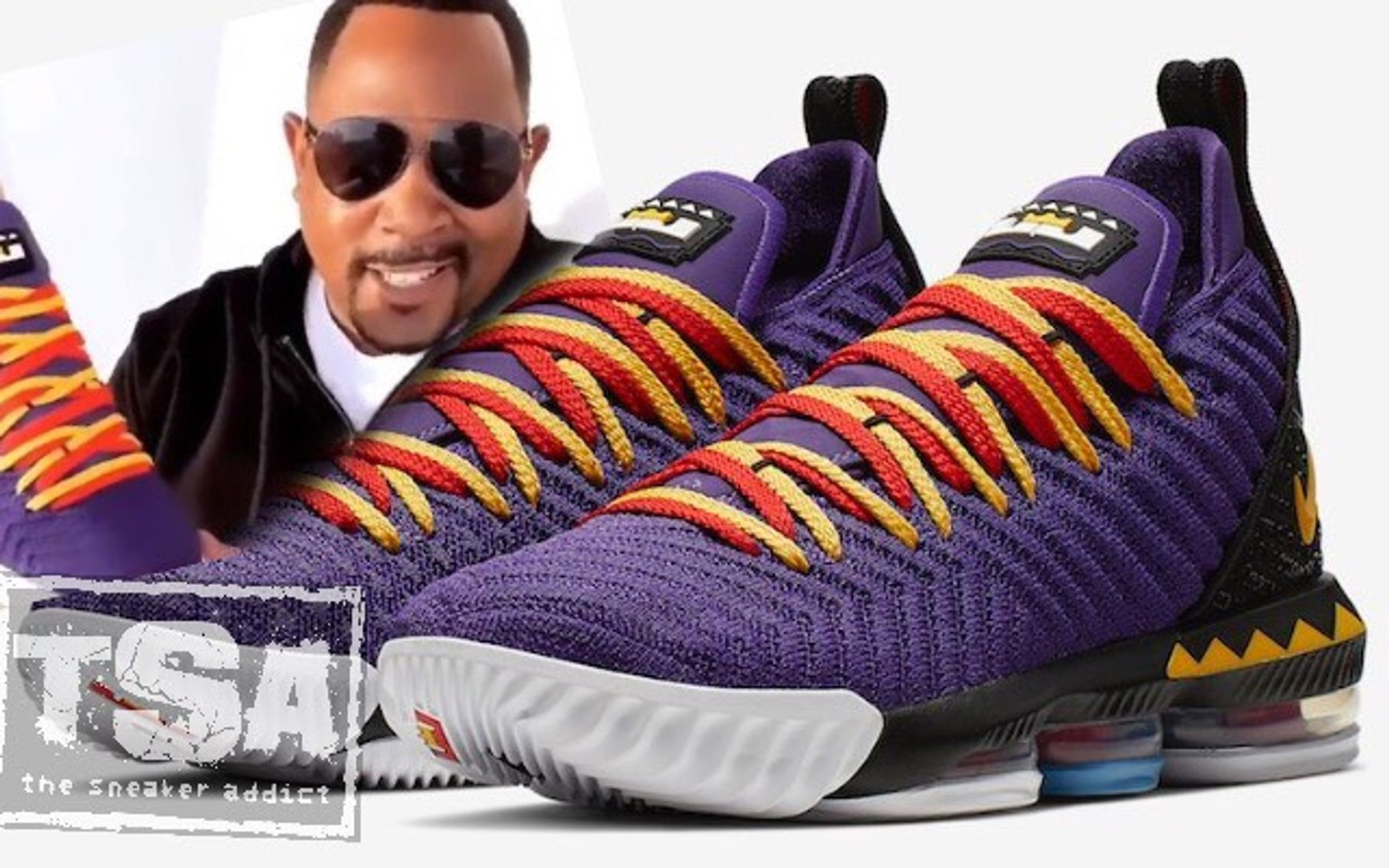 Martin Lawrence Nike Lebron James 16 Sneaker Inspired by the TV Show