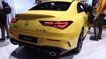 2020 Mercedes-AMG CLA 35 and A 35 - 2019 NYIAS