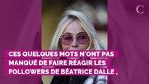 """VIDÉO. Béatrice Dalle fait une magnifique déclaration à sa """"merveilleuse amie"""" Emmanuelle Béart"""