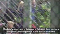 Kosovo takes back jihadists' wives and children from Syria
