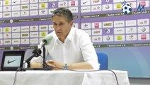 """Philippe Montanier (RC Lens) : """"Le premier round a été gagné"""""""