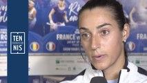 Fed Cup France-Roumanie : les réactions après la première journée