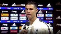 Juve Campione D'Italia 2018/2019 - Intervista a Cristiano Ronaldo, Allegri, Chiellini, Bernardeschi, Nedved e Paratici + Conferenza Stampa - Juventus vs Fiorentina 2-1