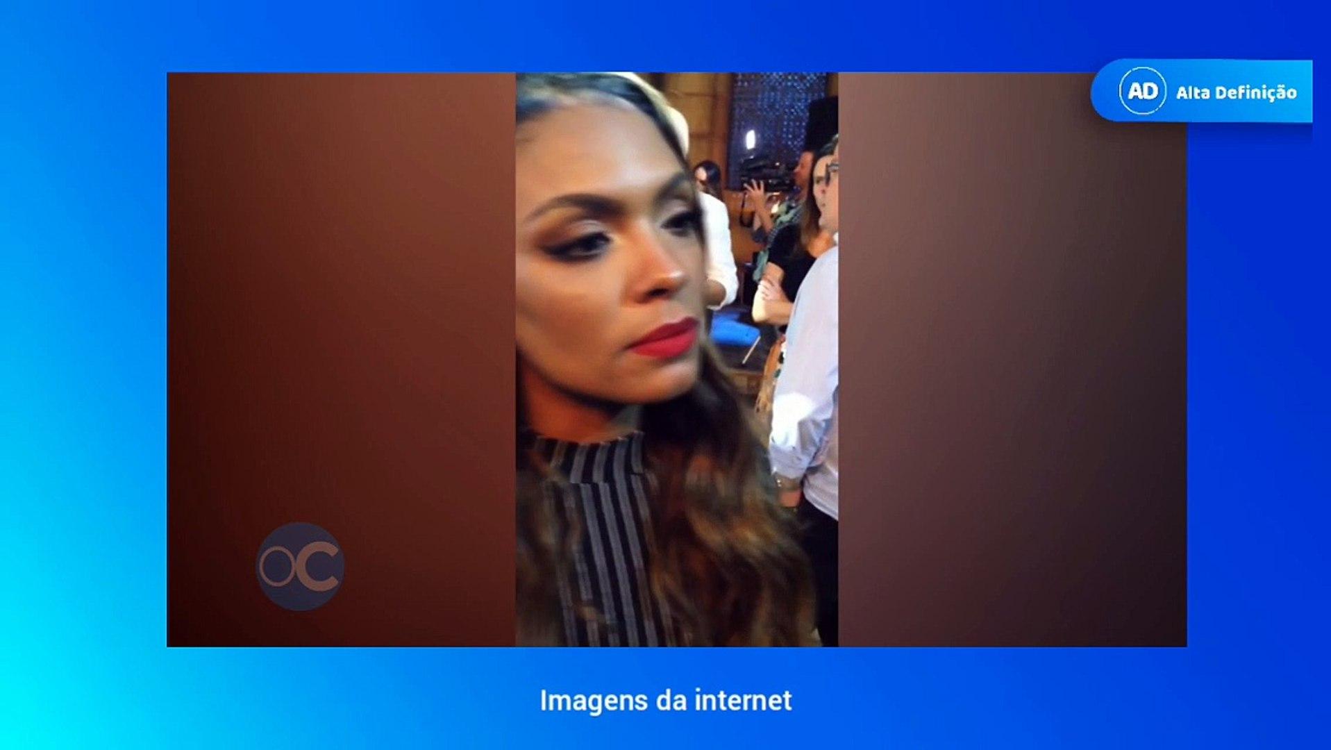 Atriz Lidi Lisboa internautas criticam rep�rter que entrevistou a atriz lidi lisboa