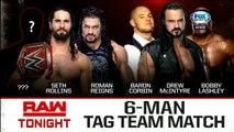 WWE Raw: AJ Styles, Roman Reigns & Seth Rollins vs. Drew McIntyre, Baron Corbin & Bobby Lashley | Español Latino HD