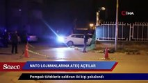 İzmir'de NATO lojmanlarına ateş açan 2 kişi yakalandı
