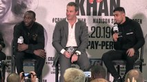 Reaction after WBO champion Crawford beats Khan following low blow