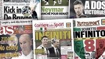 La presse italienne s'extasie devant le titre historique de la Juventus, la nouvelle blessure de Kevin De Bruyne inquiète beaucoup Manchester City