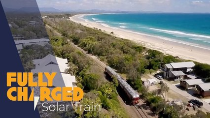 World's First Solar Train - Byron Bay Railroad Company _ Fully Charged