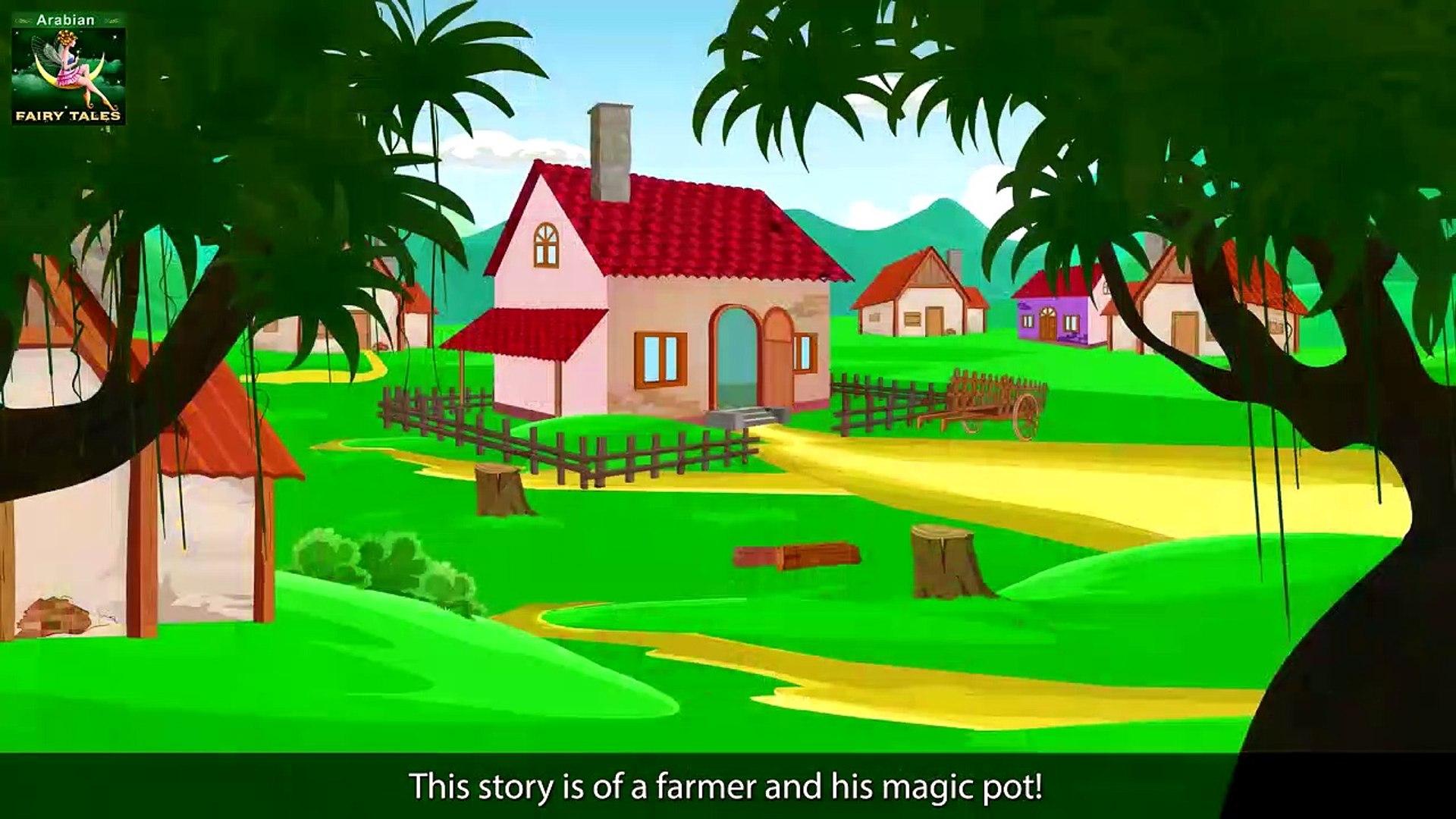 الاناء السحرى   قصص اطفال   حكايات عربية