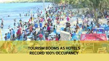 Tourism booms as hotels record 100 % occupancy