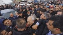 Şehit cenazesinde Kılıçdaroğlu'na çirkin saldırı