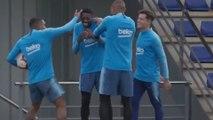 Dembélé et Coutinho prennent cher lors d'une brésilienne avec le Barça