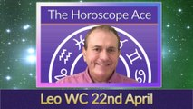 Leo Weekly Horoscope from 22nd April - 29th April