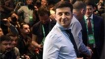 Comedian Wins Ukrainian Presidential Race