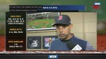 Hear From Alex Cora After Red Sox Sweep Rays