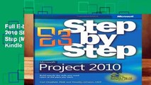 Full E-book Microsoft Project 2010 Step by Step (Step by Step (Microsoft))  For Kindle