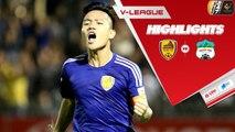 Đinh Thanh Trung tỏa sáng, Quảng Nam dễ dàng đánh bại HAGL trên sân nhà | VPF Media