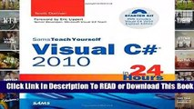 PDF Download] Sams Teach Yourself Visual Basic 2012 in 24
