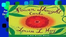 Power Thought Cards (Beautiful Card Deck)  Review