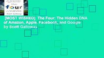 [MOST WISHED]  The Four: The Hidden DNA of Amazon, Apple, Facebook, and Google by Scott Galloway