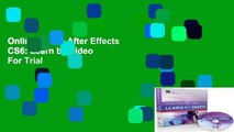 Online Adobe After Effects CS6: Learn by Video  For Trial