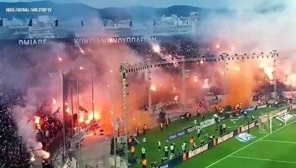 L'ambiance totalement dingue pour fêter le titre du PAOK Salonique