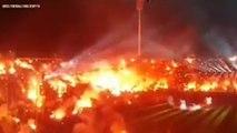 L'ambiance démente pour le titre du PAOK en Grèce