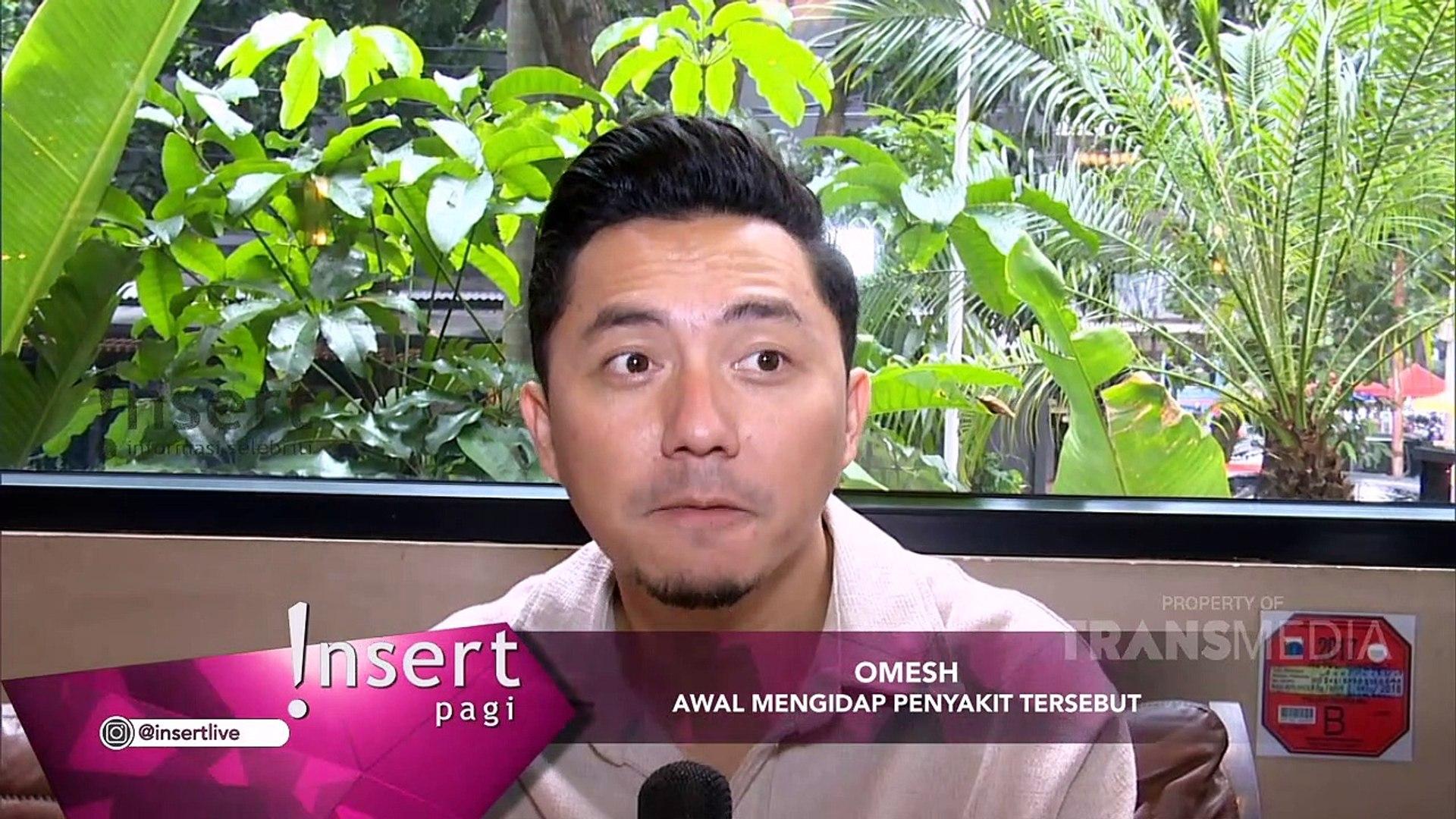 INSERT - Mengidap Vocal Abuse, Omesh Rehat 3 Bulan dari Dunia Entertainment