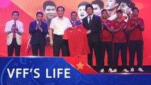 Sony tiếp tục là nhà tài trợ của các Đội tuyển bóng đá Quốc gia Việt Nam | VFF Channel