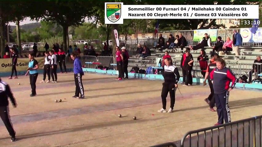 Quarts de finale, huitième étape du Super 16 féminin, Bourg-Saint-Andéol 2019