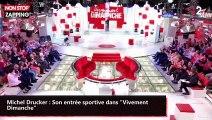 """Michel Drucker : Son entrée sportive dans """"Vivement Dimanche"""" (vidéo)"""