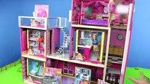 Poupées Barbie: la maison de Poupées Mobilier w/ Chambre à coucher, Cuisine & salle de Bains | Dreamhouse Poupée Jouets pour les Enfants | Gertie S. Bresa