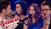 Christophe Willem – Double Je | Olympe, Laura Chab, Anthony Touma, Jenifer | The Voice 2013 |Prime 4