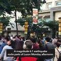 Magnitude 6.1 earthquake rocks Luzon