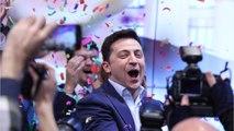 Ukraine Comedian Wins Presidential Election