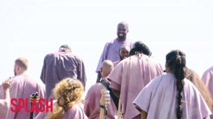 Kanye West Debuts New Song 'Water' At Coachella Sunday Service