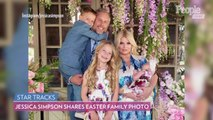 Jessica Simpson Shares Adorable New Photos of 4-Week-Old Birdie with Daughter Maxwell and Son Ace