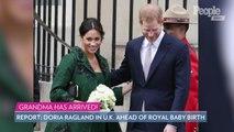 Grandma Has Arrived! Doria Ragland Arrives in London Ahead of Birth of Royal Baby: Report