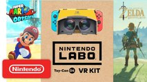 Nintendo Labo : VR Kit + Super Mario Odyssey / The Legend of Zelda