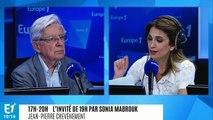 """Jean-Pierre Chevènement dénonce les violences dont sont victimes les policiers : """"Ce n'est pas digne d'une démocratie"""""""