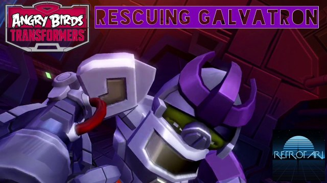 Angry Birds: Transformers - Rescuing Galvatron